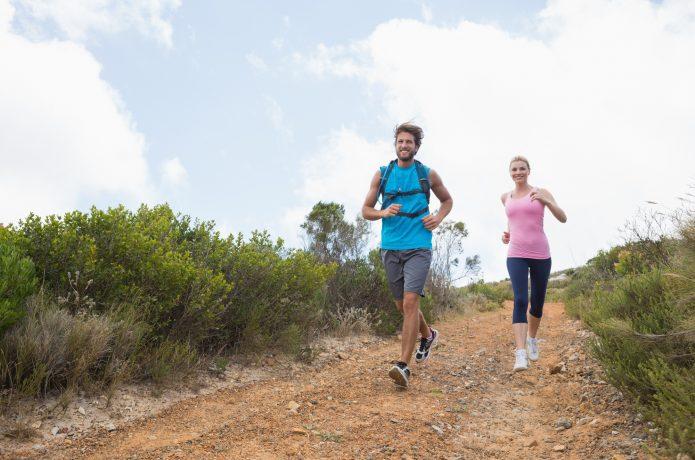 体幹部を鍛えて足への負担を軽減