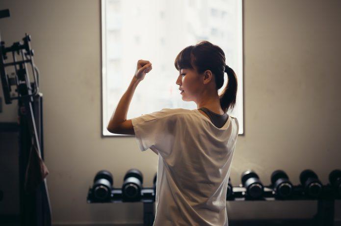 筋肉が少なく基礎代謝が低い