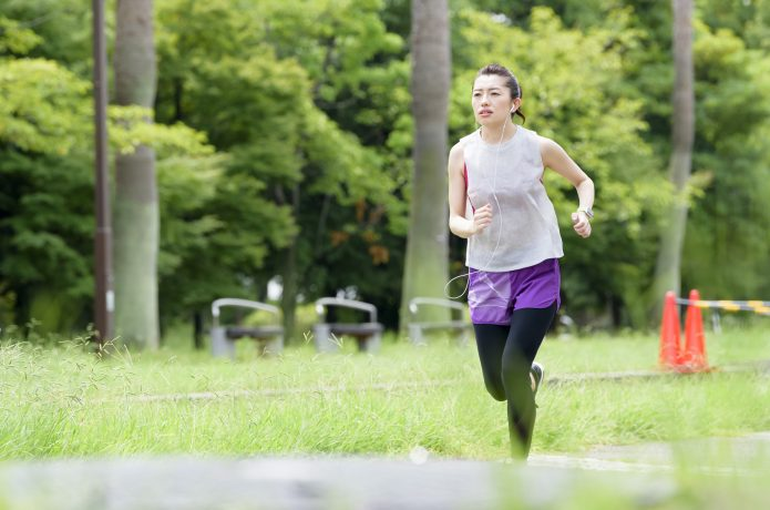 週3回のジョギングのペースを少し上げて60分走る