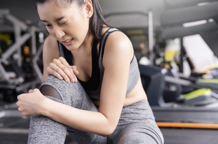 筋肉痛のイメージ画像