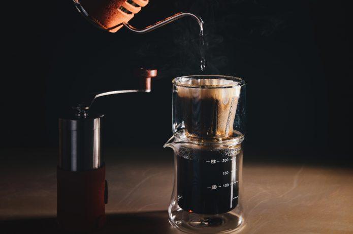 カフェインを含むコーヒーの画像