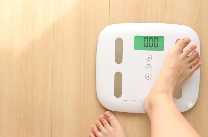 体重の記録はモチベーションに!