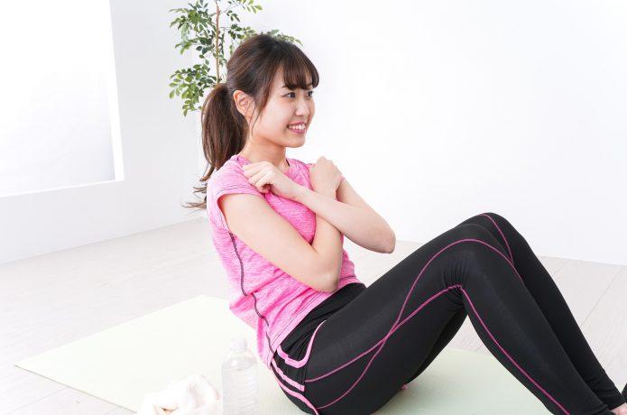 女性 腹筋 運動