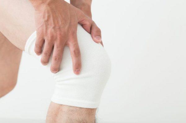膝の痛みの予防にサポーターも有効