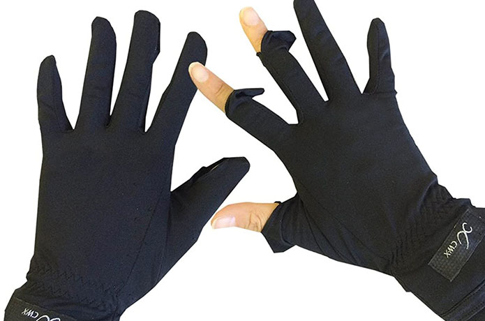 手袋 日除け ランニング