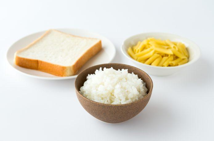 炭水化物の食事