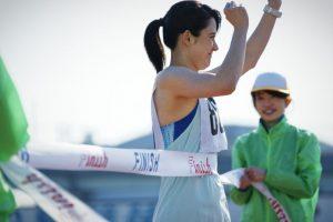 ゴールテープ マラソン
