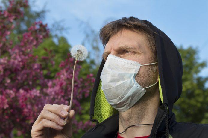 花粉 マスクのイメージ画像