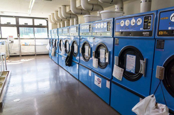 コインランドリー 洗濯
