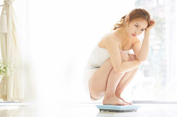 体重に悩む女性