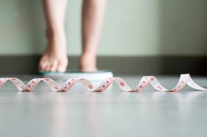 足の計測イメージ