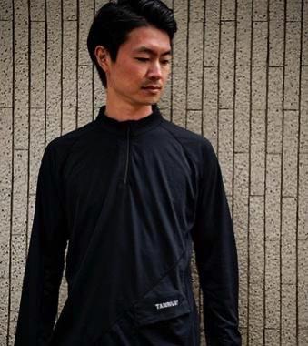 TANNUKI Sato LS Half Zip