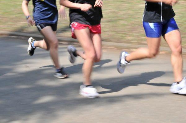 公園 ランナー 速い