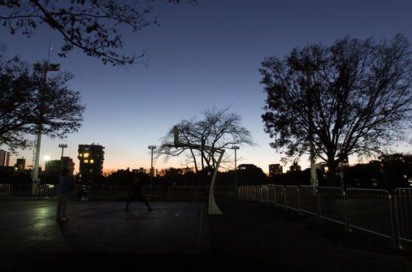 代々木公園 夜