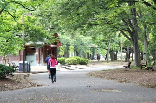 代々木公園 ランナー