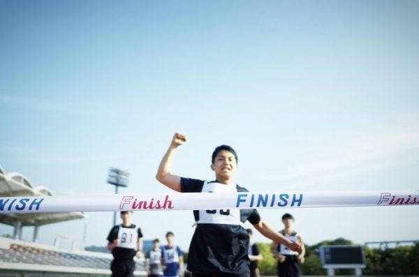 マラソン ゴール