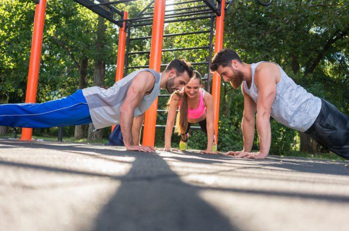 ランニング 公園 トレーニング