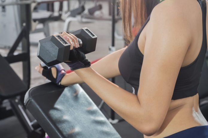 女性 ウエイトトレーニング グローブ ダンベル