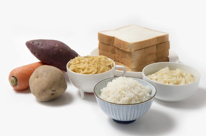 炭水化物が多い食事