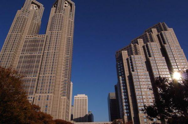 都庁 東京マラソン スタート地点