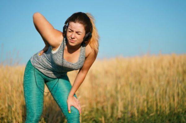 女性ランナー 腰が痛い
