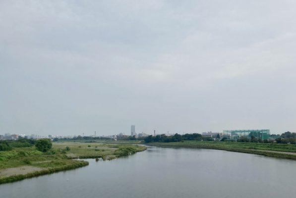 多摩川水道橋 北側