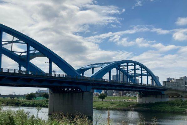 多摩川 丸子橋