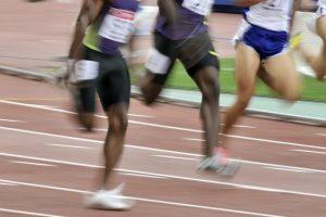 短距離走のレース