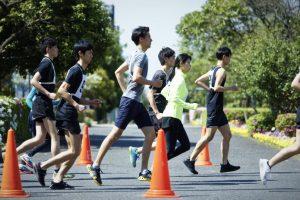 マラソンをトレーニングをするランナー
