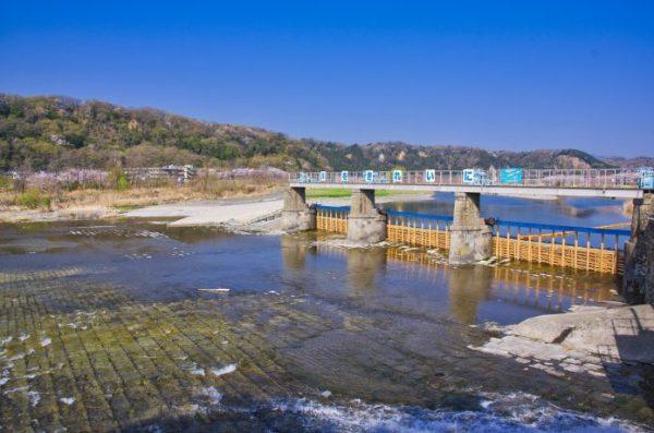 羽村 取水堰