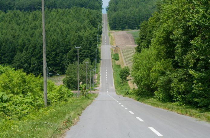 人気が少ない坂道