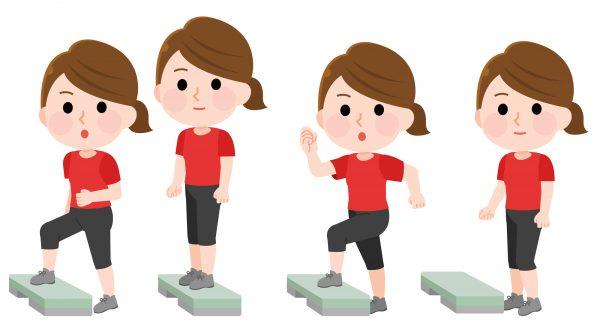 踏み台運動