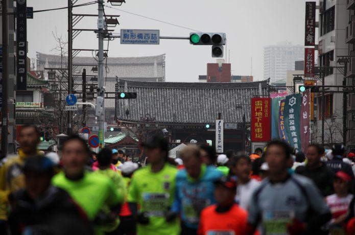 マラソン当日の様子
