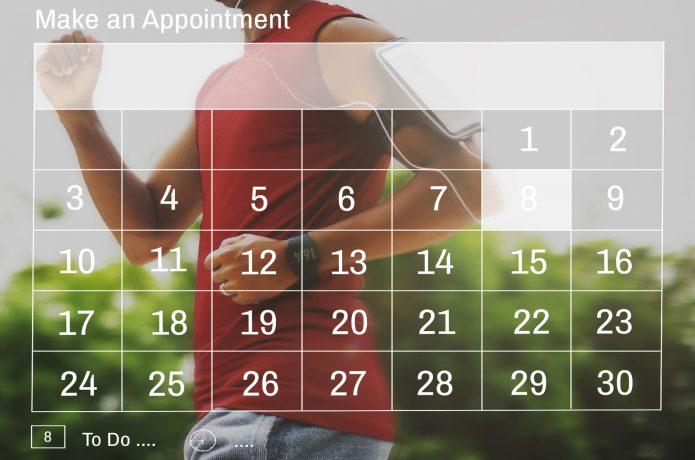 ランニング カレンダー
