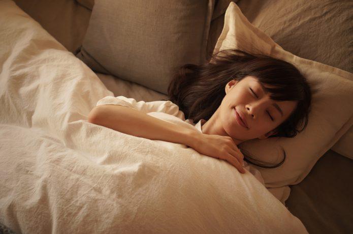 質のいい 睡眠 女性
