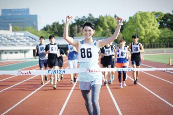 ハーフマラソン ゴール