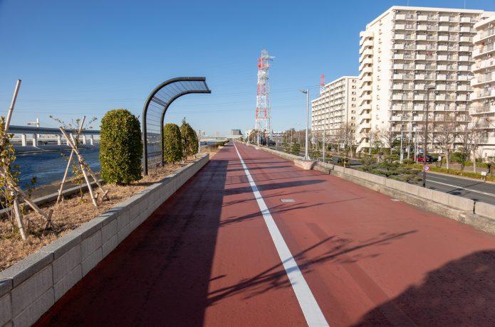 距離走に適したジョギングコース