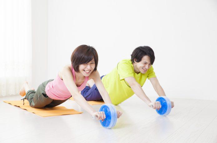 腹筋ローラー トレーニング 女性