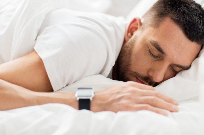 スマートウォッチで睡眠時間計測