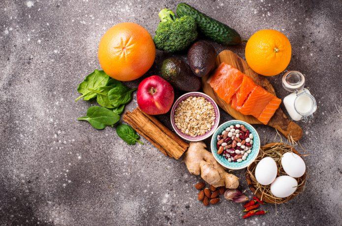 食事 五大栄養素のイメージ