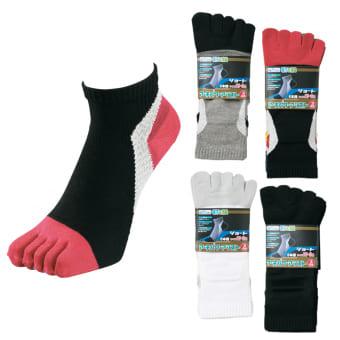 アーチパワーアシスト ショート 5本指靴下