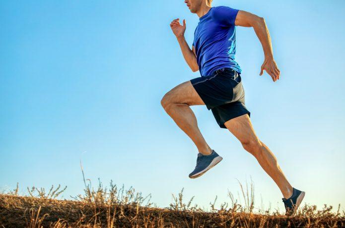 ランニングで脚を鍛えるイメージ画像