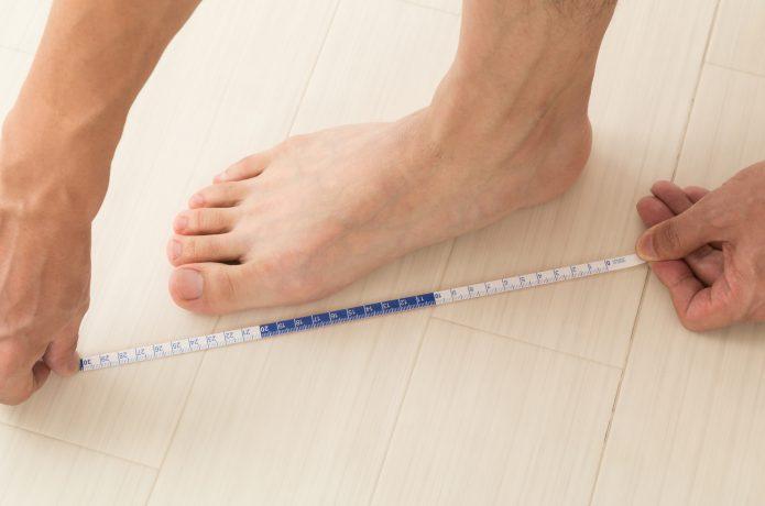 足 サイズ 計測